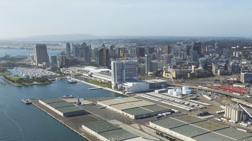 The Tenth Avenue Marine Terminal is a 96 acres multi-purpose eight berth facility on San Diego Bay.