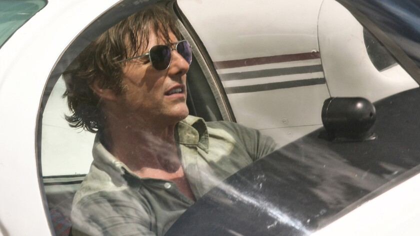** *SNEAKS FALL 2017**DO NOT USE**FOR SEPTEMBER 3, 2017*** In Universal Pictures' 'American Made' mo