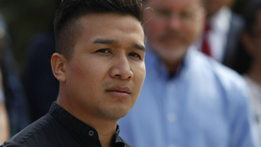Osmar Abad Cruz one of the many beneficiaries of Deferred Action for Childhood Arrivals (DACA) in Sa