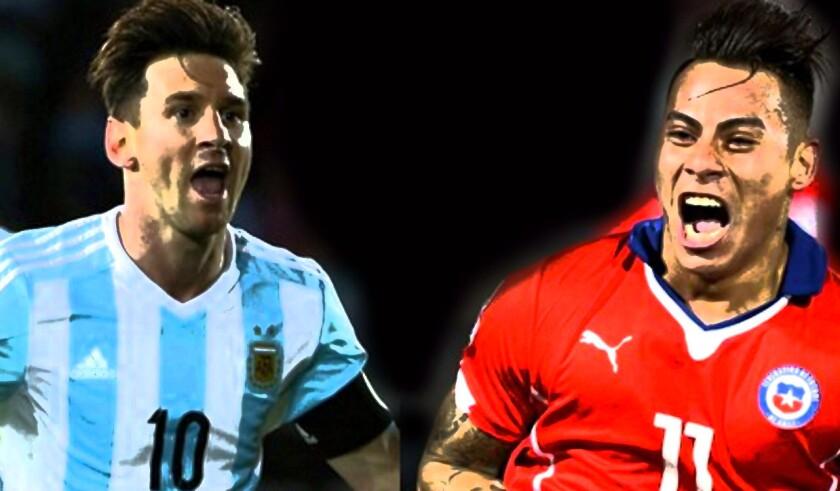 Argentina vs Chile... choque de trenes.