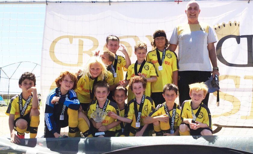 Tommy Maurer's Borussia Del Mar U9 Team won first place at The Coronado Crown City Classic, defending last year's first-place title.