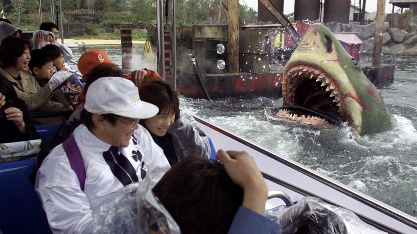 "Universal Studios Japan's ""Jaws"" attraction"