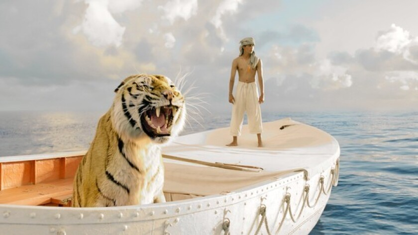 """MPC's Vancouver, Canada, visual effects studio, which worked on the Oscar-winning film """"The Life of Pi,"""" is closing. Above, a scene from the movie."""