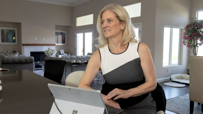 Kim Selnick who is 64-years-old, was laid off in April, she is currently looking for work. She had p