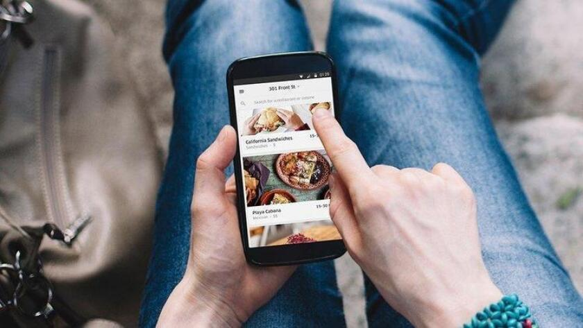 Uber's food delivery service, UberEats, arrives in San Diego to dispatch orders from more than 100 area restaurants. (Courtesy)
