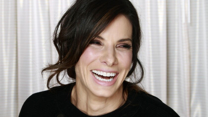 Sandra Bullock is photographed at the Hyatt Regency in Century City on Jan. 25, 2014.