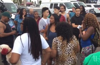 Angry crowd grows after man is shot by police in El Cajon