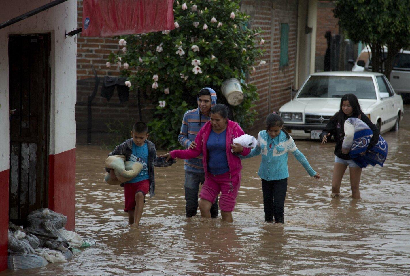 Hurricane Patricia makes landfall