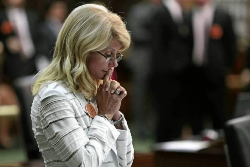 Texas Sen. Wendy Davis' abortion filibuster galvanizes activists