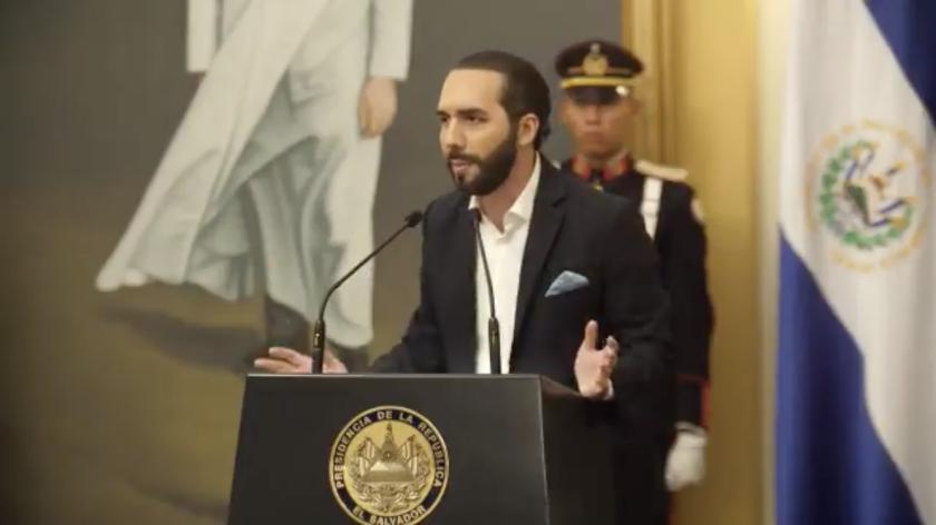 Bayib Bukele, presidente de El Salvador