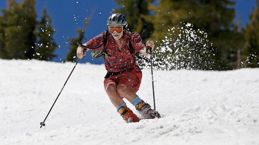 OLYMPIC VALLEY, CALIF. -- SATURDAY, JUNE 17, 2017: Mark Reno, of San Jose, at Squaw Valley Ski Resor
