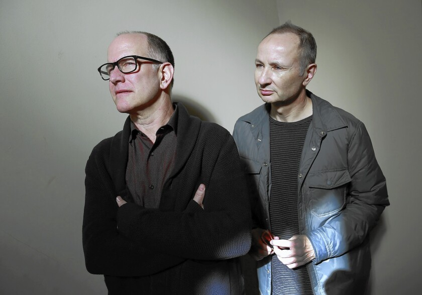 Documentary filmmakers Randy Barbato, left, and Fenton Bailey