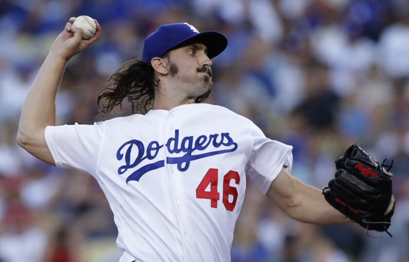 Tony Gonsolin will start against the Seattle Mariners on Tuesday at Dodger Stadium.