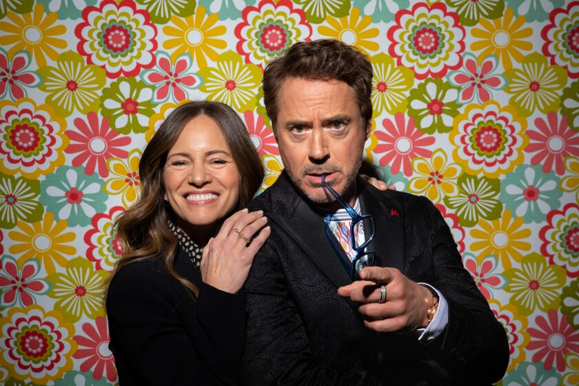 Robert Downey Jr. and his wife and producing partner, Susan Downey