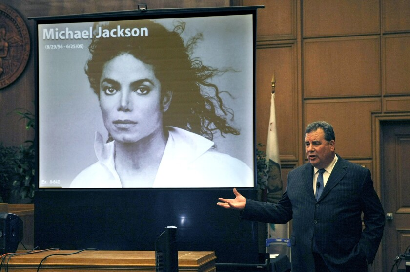 Brian Panish, attorney for the Michael Jackson family, delivers closing argument this week.