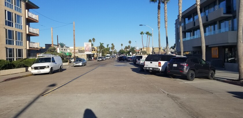 Felspar Street and Mission Boulevard, near the Boardwalk