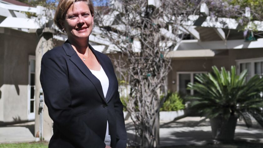 Laura Verlaque, of Santa Clarita, is the new Executive Director at the Lanterman House, in La Canada