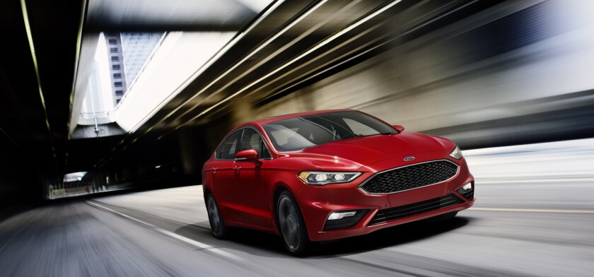 Ford's Fusion comes in a variety of platforms, from a turbocharged V6 sport version to the plug-in hybrid Platinum Energi.