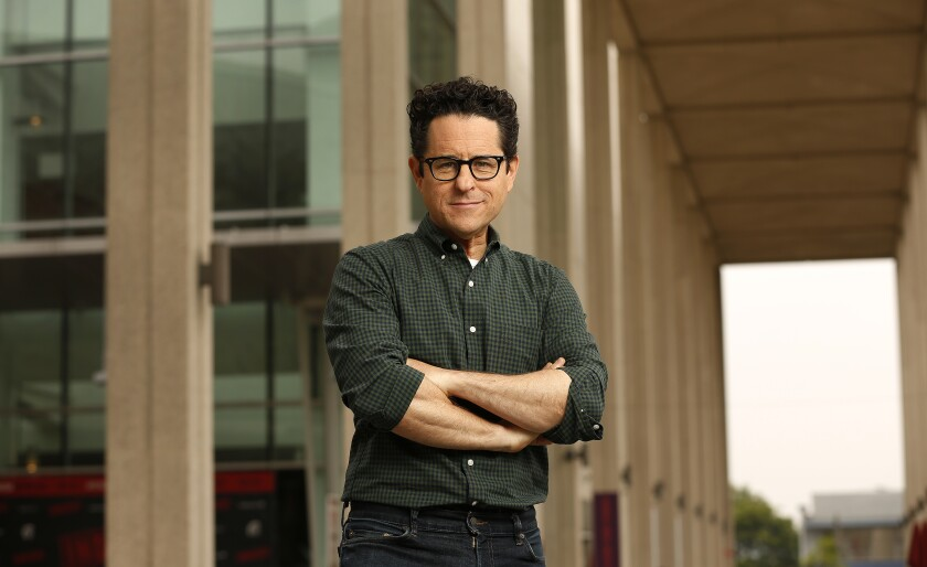 Movie and TV writer-producer J.J. Abrams