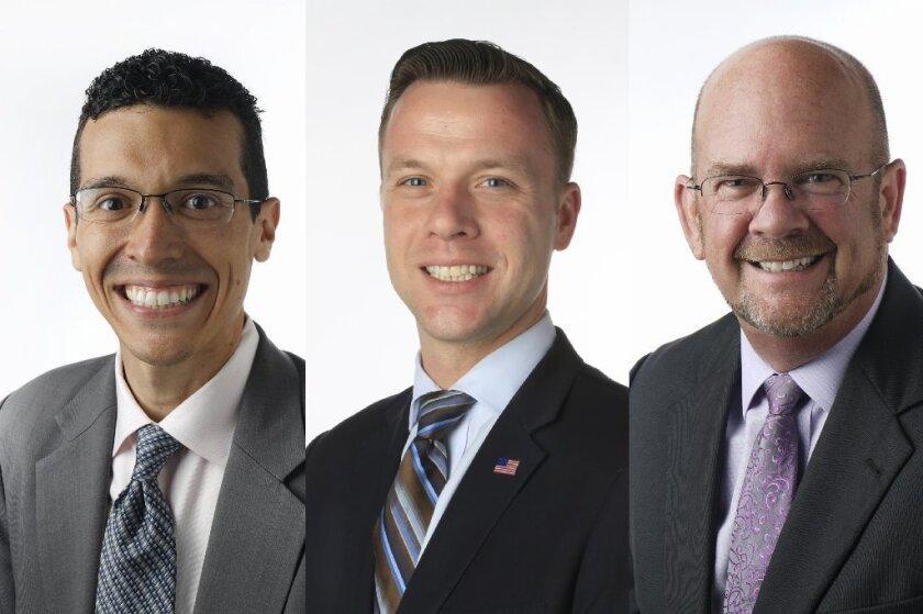 Jose Caballero,  Justin DeCesare and Scott Sherman