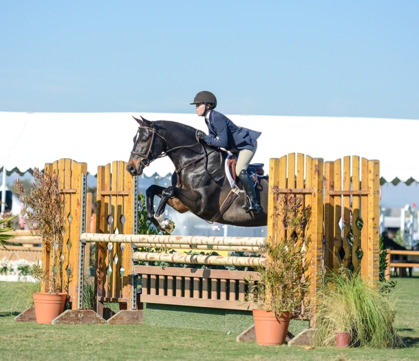 Jillian Stuart on Andover at the Paso Robles Horse Park.