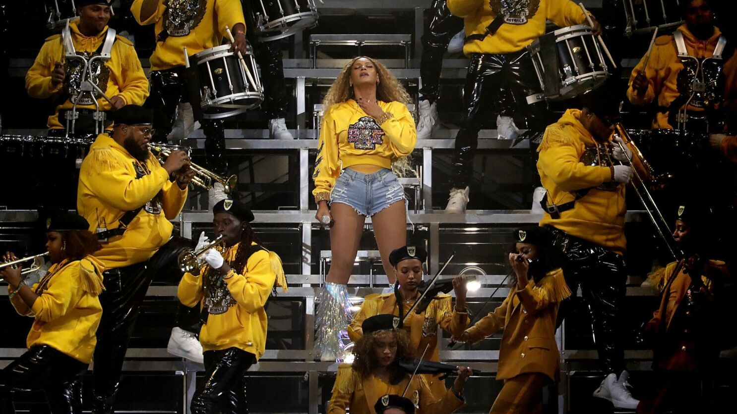 Coachella At 20 How Beyonce Forever Changed The Desert Festival Los Angeles Times