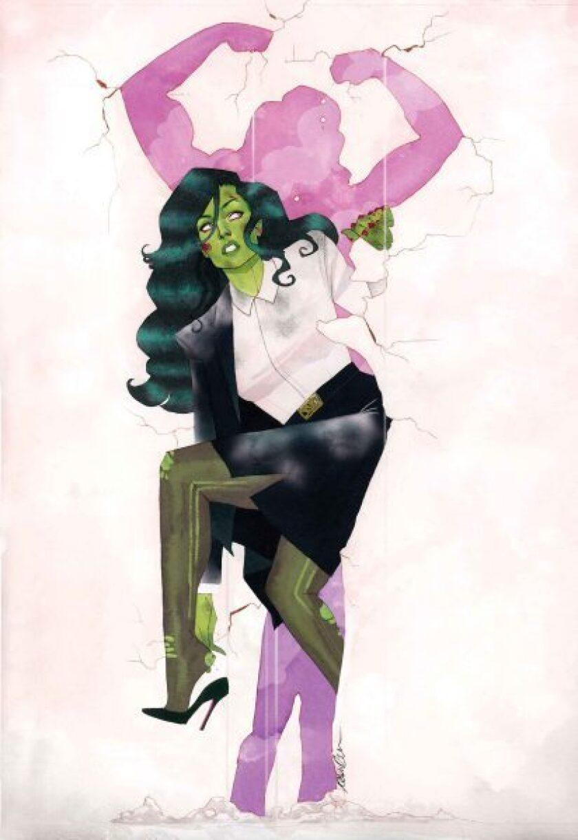 Marvel Comics' She-Hulk.