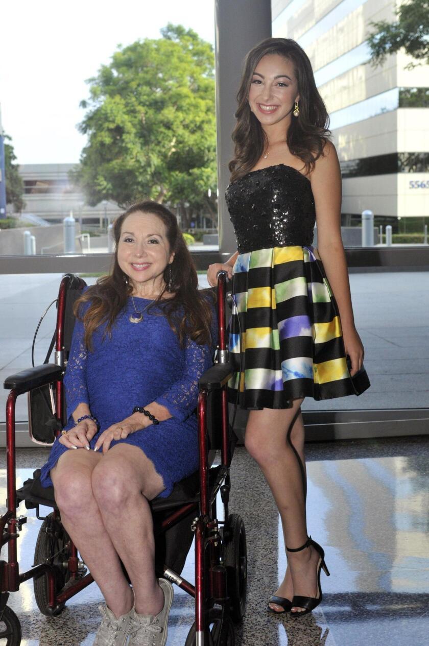 Marjie Block and her niece/concert organizer Megan Spector