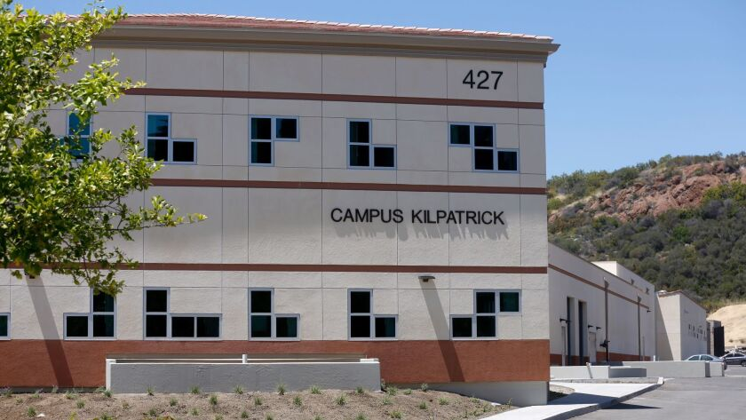 Los Angeles County Probation Department Campus Kilpatrick in Malibu, Calif., on May 19.
