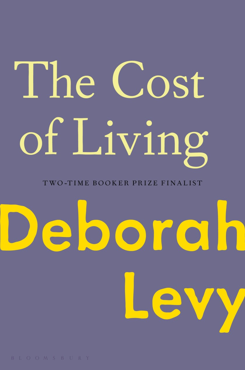 Book jacket for 'The Cost of Living' by Deborah Levy