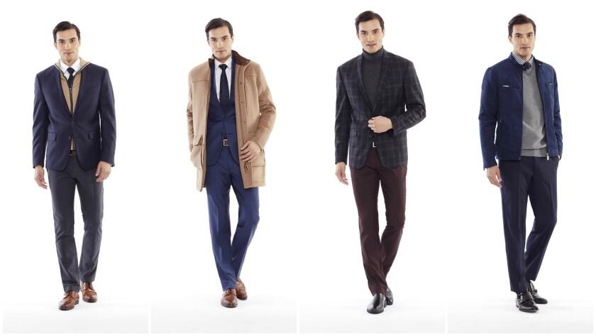 Looks from Ryan Seacrest Distinction's new sportswear extention.