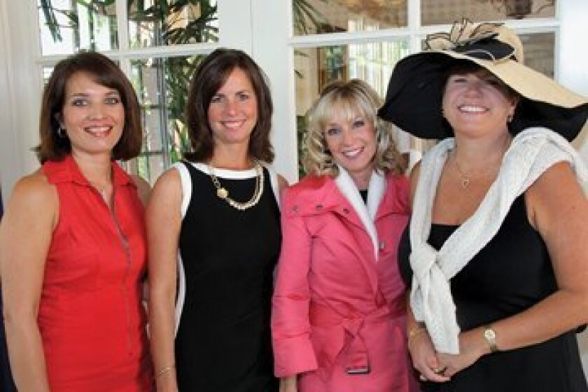 Kim Perison, Kim Smart, Kelli Graham, Dawn Clark. Photos by Jon Clark