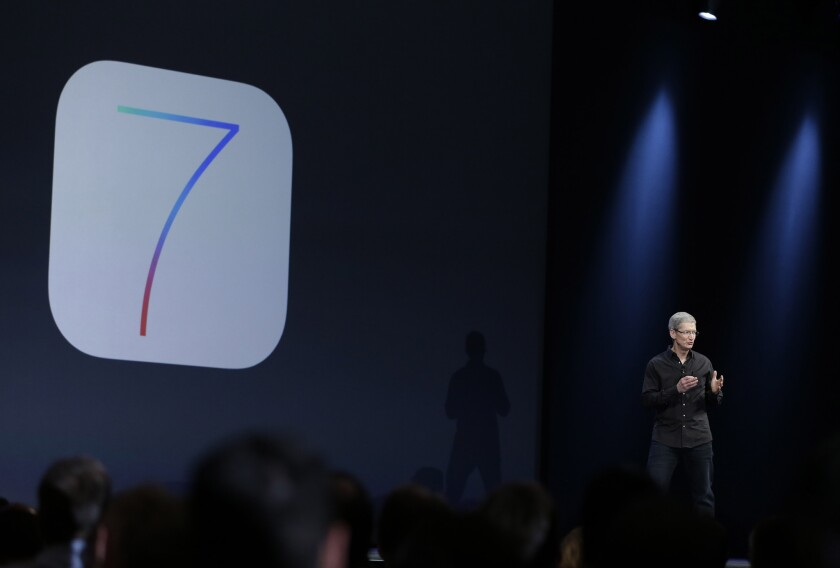 Apple's upcoming iOS 7 mobile operating system will have a feature that shows users a map of the locations they visit most often.