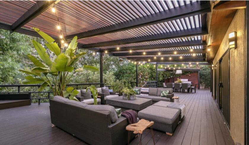 Josh Hutcherson's Midcentury treehouse seeks $3.5 million in Hollywood Hills