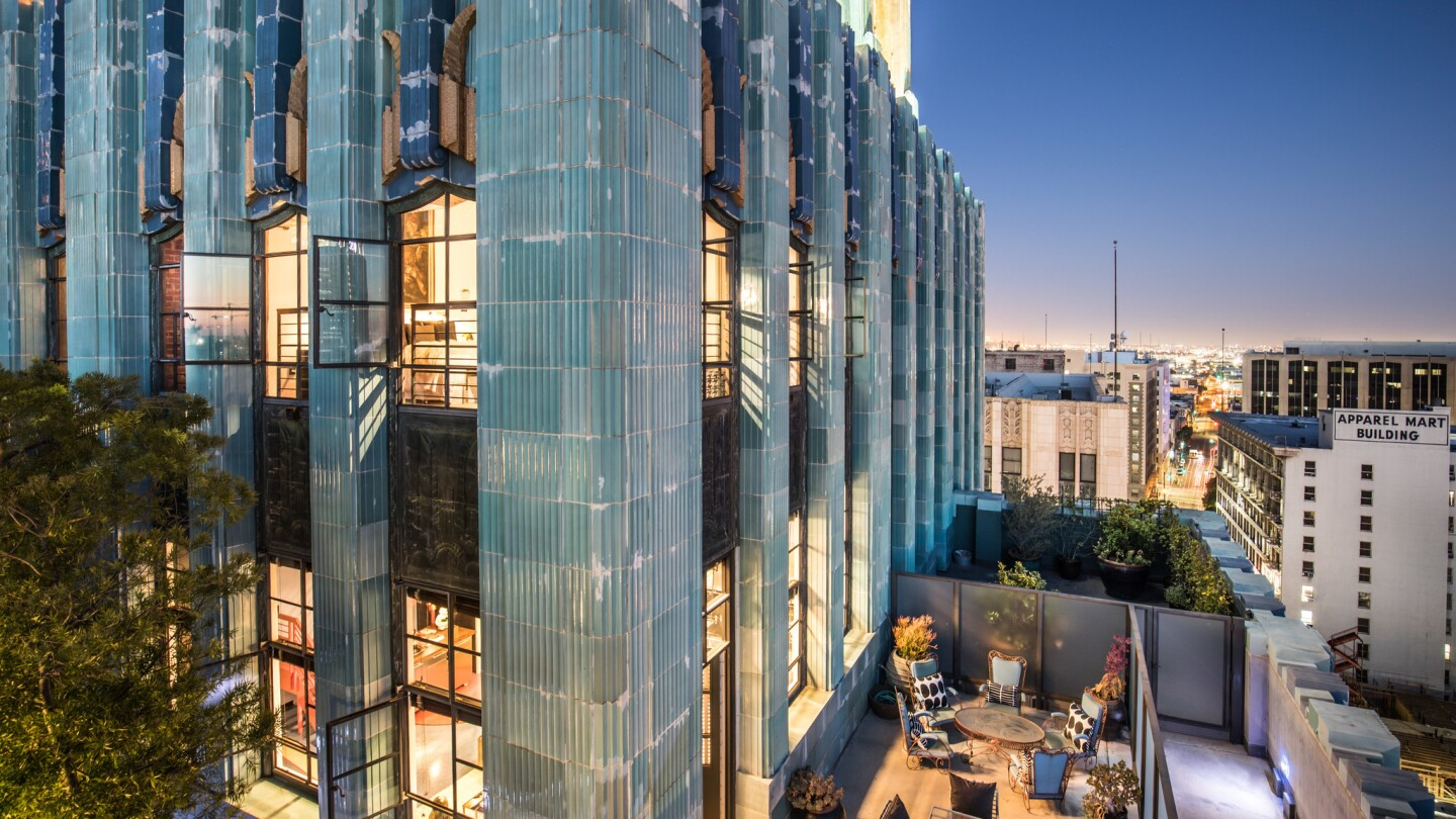Johnny Depp's penthouse collection in Downtown L.A. | Hot Property