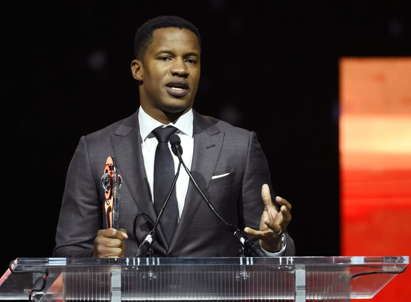 """""""The Birth of a Nation"""" director and co-writer Nate Parker."""