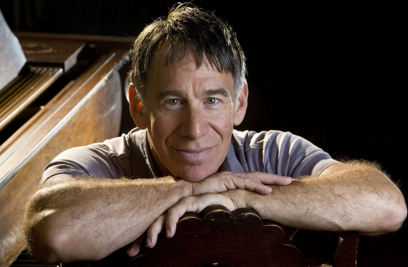 "FILE - In this Sept. 16, 2009 file photo, composer Stephen Schwartz poses in Santa Barbara, Calif.  Schwartz, best known as the enormously successful composer behind ""Godspell,"" ""Pippin"" and  ""Wicked,"" will create four musicals to debut onboard Princess cruise ships, the cruise line announced Thurs"