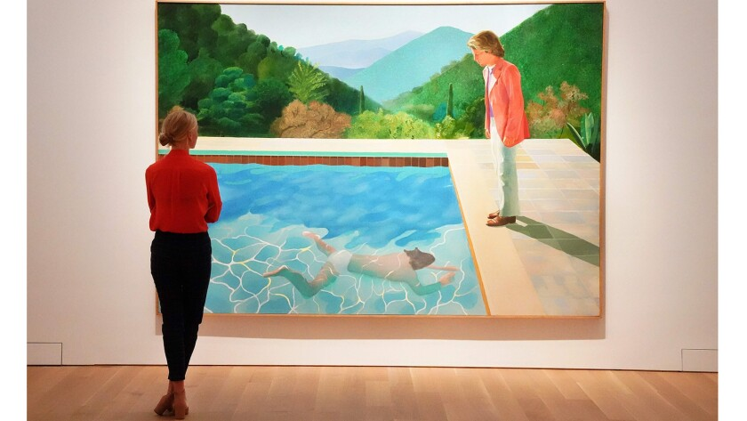 """David Hockneys """"Portrait of an Artist (Pool with Two Figures)"""""""