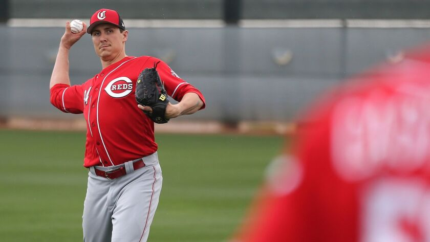 MLB: Cincinnati Reds-Workout