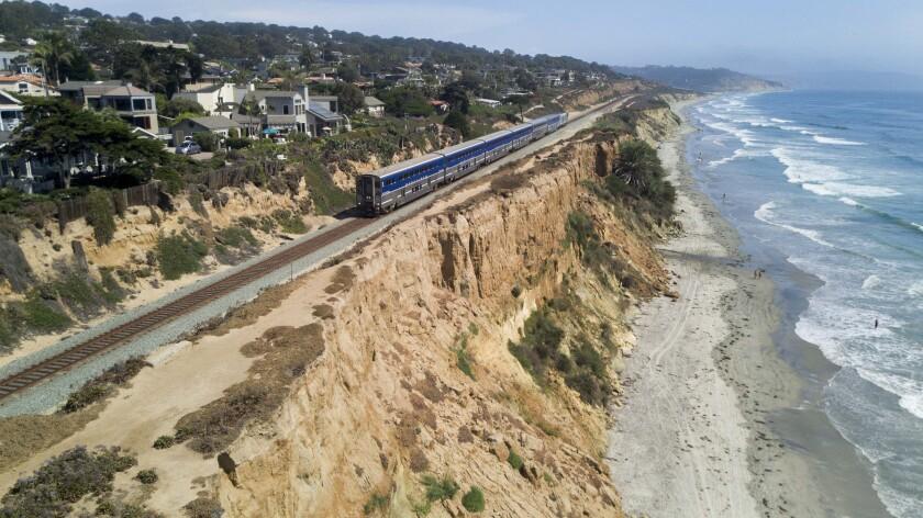 Del Mar Bluff Collapse