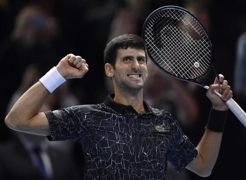 El serbio Novak Djokovic. EFE/Archivo