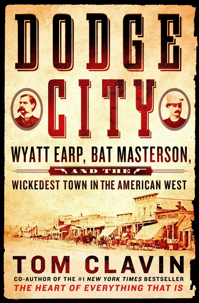 """The cover of """"Dodge City."""""""