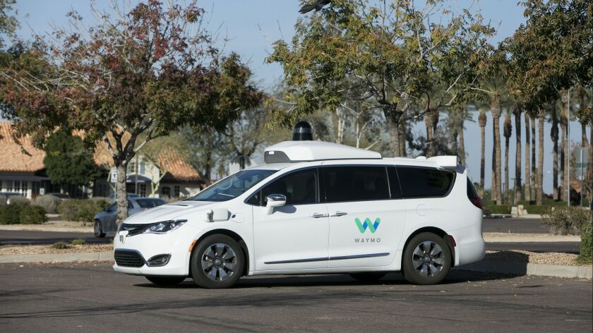 Driverless-car makers want Congress to free them from state safety standards