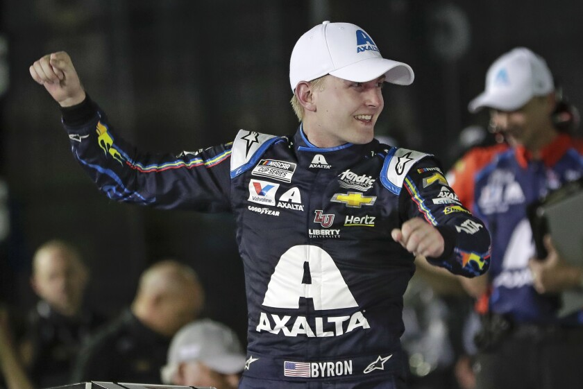 It is William Byron's third victory in the last four iRacing events.