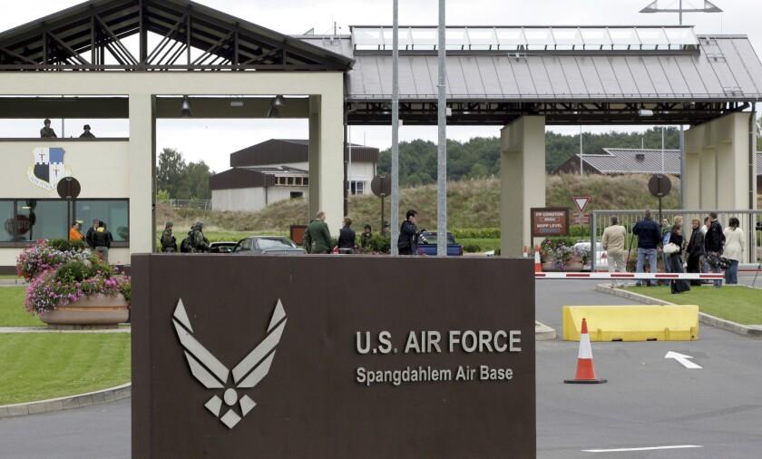 Germany Air Base Deaths