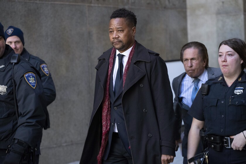 APTOPIX Sexual Misconduct Cuba Gooding Jr
