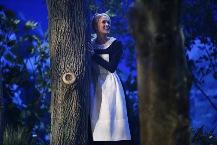 """Carrie Underwood as Maria von Trapp in """"The Sound of Music Live,"""" which aired Thursday on NBC."""