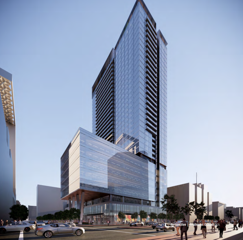 Rendering of Courthouse Commons at 220 West Broadway