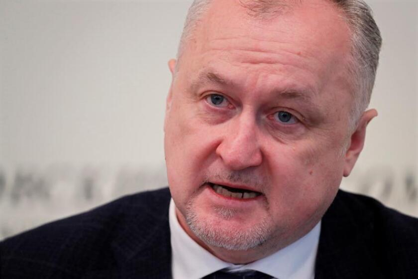 El director general de la agencia antidopaje rusa RUSADA, Yuri Ganus. EFE/Archivo