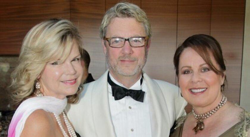Gigi Fenley, La Jolla Music Society President and Artistic Director Christopher Beach, Linda Howard